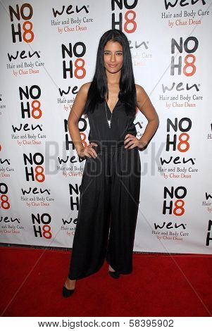 Jessica Clark at the NOH8 Campaign 4th Anniversary Celebration, Avalon, Hollywood, 12-12-12