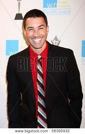Ace Young at The 14th Annual Women's Image Network WIN Awards, Paramount Studios, Hollywood, CA 12-12-12