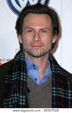 LOS ANGELES - NOVEMBER 28: Christian Slater at the Volkswagen Concept Tiguan U.S. Launch Party at Raleigh Studios on November 28, 2006 in Hollywood, CA.