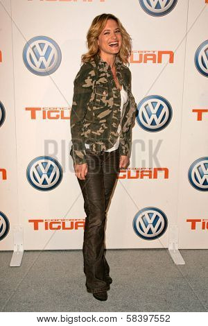 LOS ANGELES - NOVEMBER 28: Victoria Pratt at the Volkswagen Concept Tiguan U.S. Launch Party at Raleigh Studios on November 28, 2006 in Hollywood, CA.