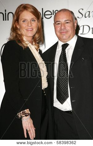 LOS ANGELES - NOVEMBER 3: Sarah Ferguson and Neil Koppel at the