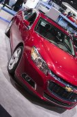 Detroit - January 26 :the New 2015 Chevrolet Cruze At The North American International Auto Show Jan