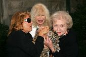 Martine Collette with Loretta Swit and Betty White at 2006 Safari Brunch Fundraiser For The Wildlife