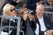 Deborra-Lee Furness and daughter Ava Eliot at the Hugh Jackman Star on the Hollywood Walk of Fame Ce