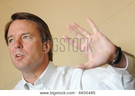 John Edwards, Senator, Candidate