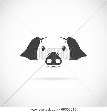 Vector Image Of Pig Head