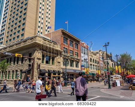 Stephen Avenue in Calgary