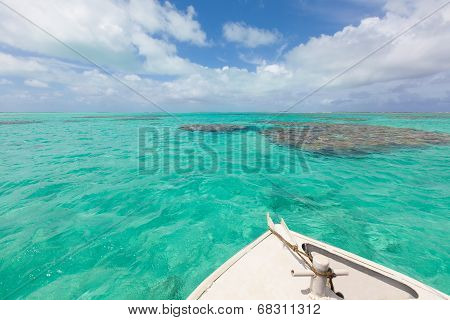 Boating At Cook Islands