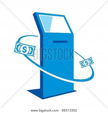Payment terminal sign