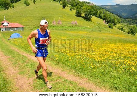 Trail Running Athlete
