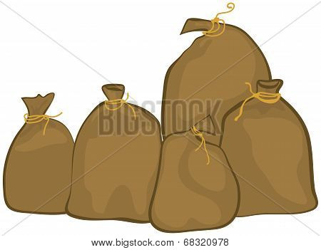 Group Of Sacks
