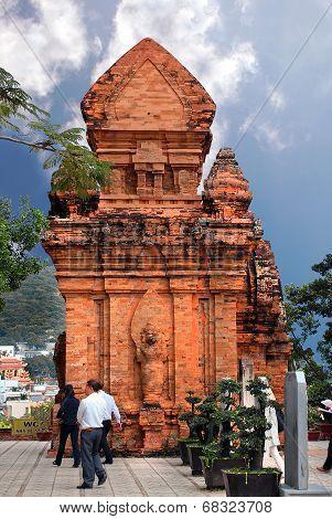 Nha Trang - circa November 2013:towers Po Nagar in Nha Trang circa November 2013