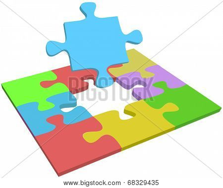 Search for missing puzzle piece to help find problem solution answer question
