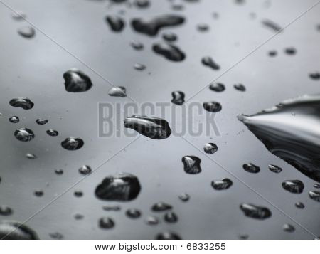 Abstract Rain Drop Background