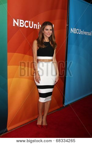 LOS ANGELES - JUL 14:  Maria Menounos at the NBCUniversal July 2014 TCA at Beverly Hilton on July 14, 2014 in Beverly Hills, CA