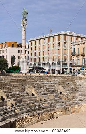 Roman Amphitheatre of Lecce, Italy
