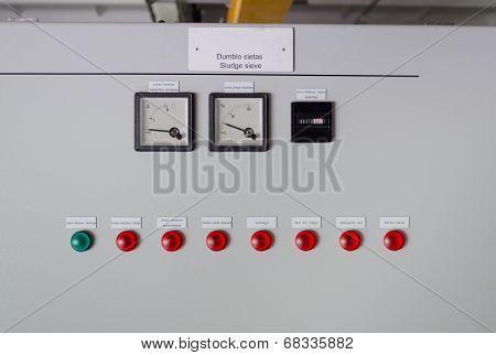Sludge Sieve Control Panel