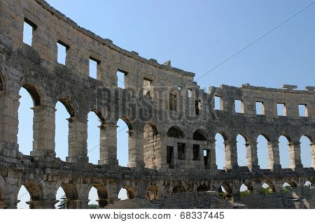 Roman Amphitheater  Pula Croatia
