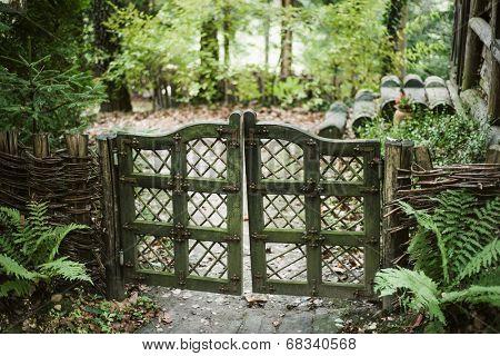 Vintage farm gate