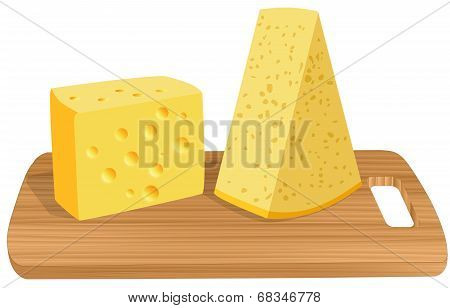 Two Slices Of Cheese
