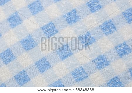 Synthetic Bristles Towel Background
