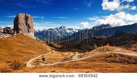 Italian Dolomiti - Nice Panoramic View