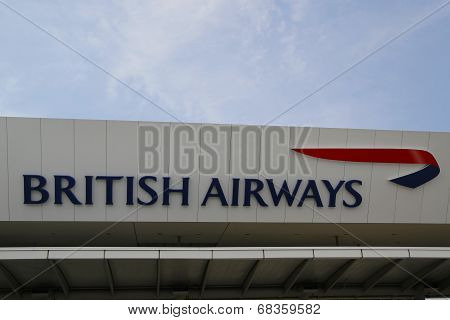 British Airways Terminal 7 at John F Kennedy International Airport in New York