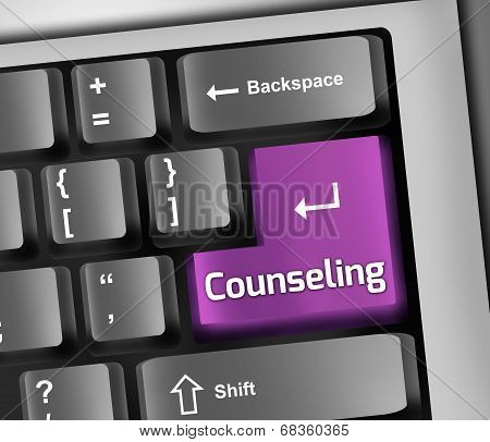 Keyboard Illustration Counseling