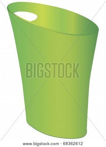 Polypropylene Waste Can