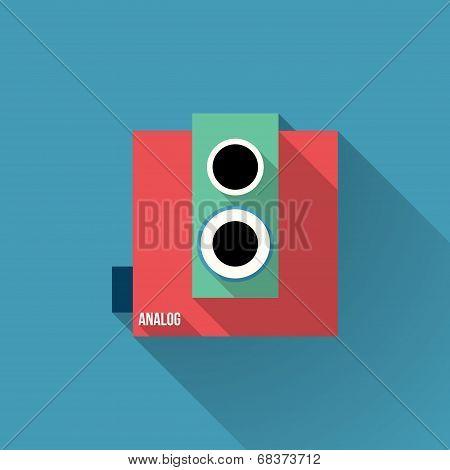 Analog Retro Film Camera