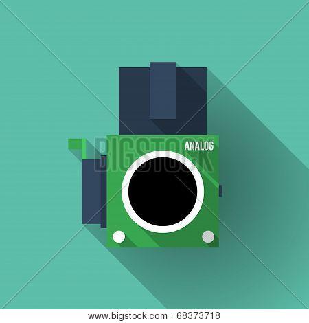 Analog Middle Format Film Camera