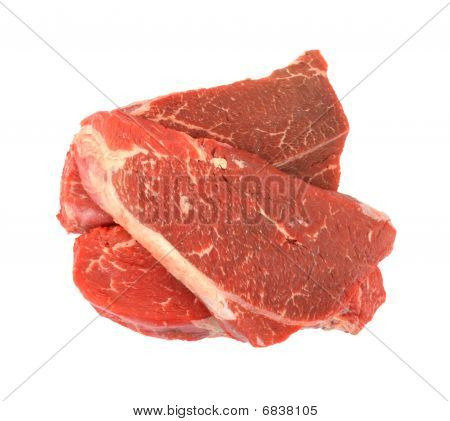 Chuck shoulder steaks