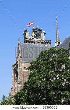 Historic Dordrecht Cathedral