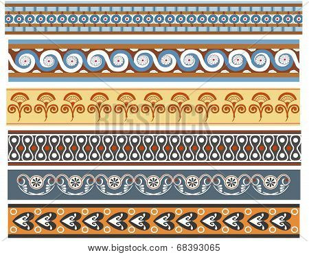Ancient Minoan patterns