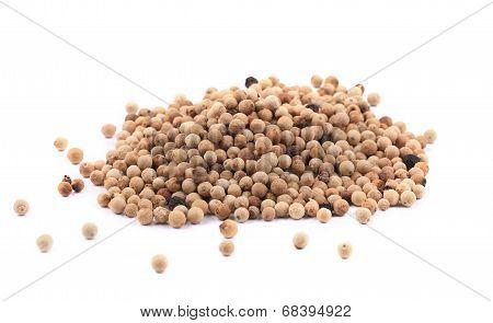 Heap of peppercorn.