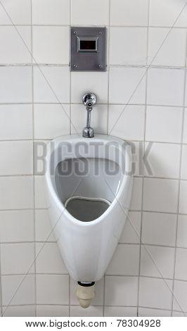 urinal in a toilet for men. men toilet