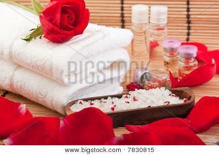 Aroma Therapy With Roses