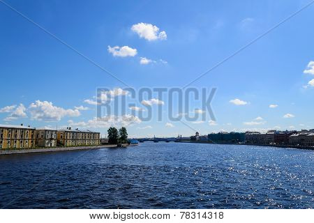 Neva in St. Petersburg