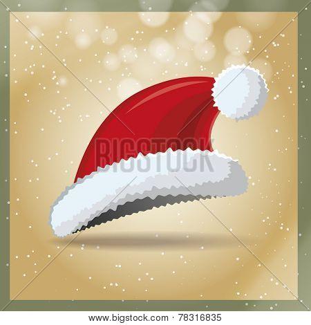 Vintage santa hat