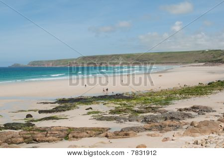 Sennen Cove Beach View