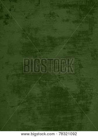 Grunge green Background with scratched surface