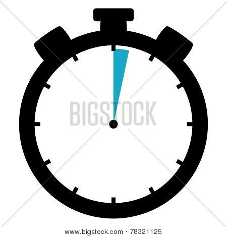 Stopwatch Icon: 2 Minutes / 2 Seconds