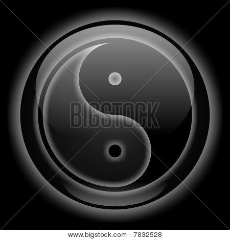 Yin-Yang Black Style