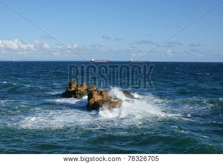 The Ocean Rocks