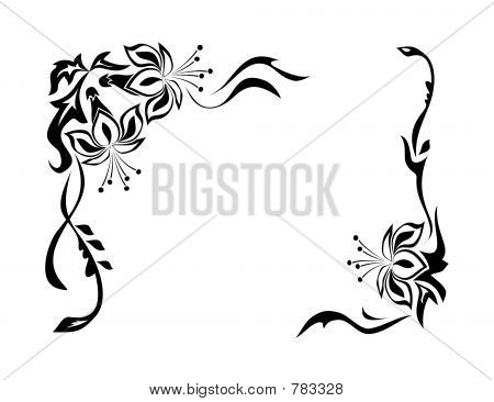 Decorative Border Designs Decorative Border Ornament