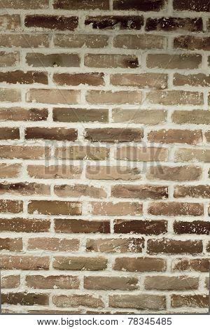 Brick Wall Brown Background