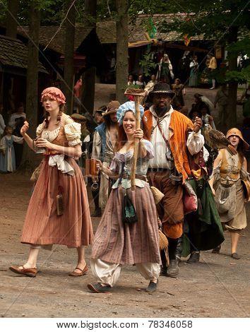 Renaissance Festival Parade