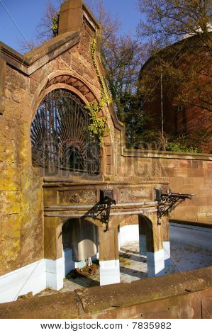 Wilhelminian fountain