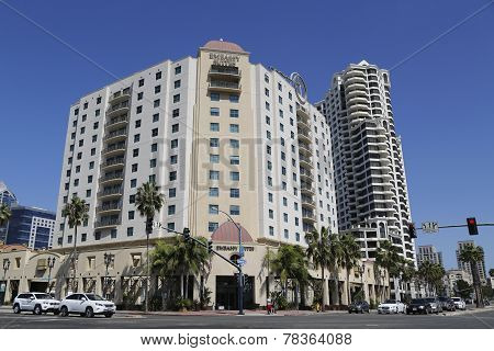 Embassy Suites San Diego Bay Downtown on Harbor Drive