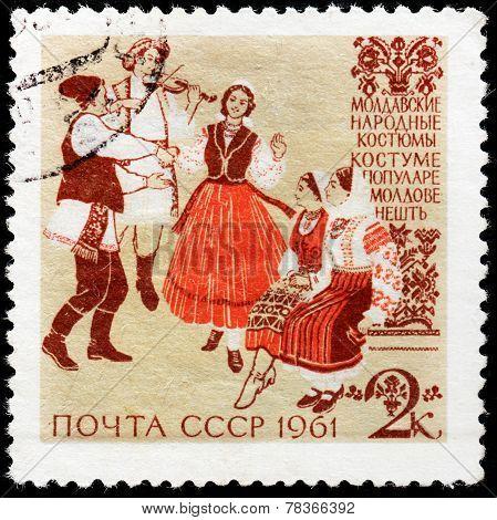 Moldovan Folk Dress